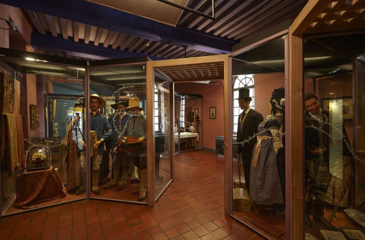 Midi au Musée - la vitrine des instruments