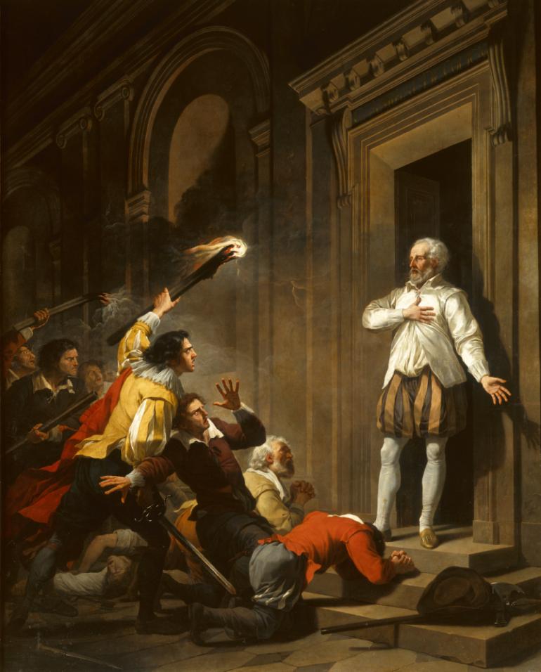L Amiral Coligny En Impose A Ses Assassins Musee Et Patrimoine Dijon